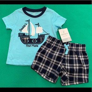 🆕 Baby Boy Short Set ⛵️
